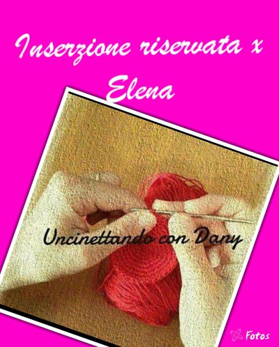 Inserzione riservata per Elena
