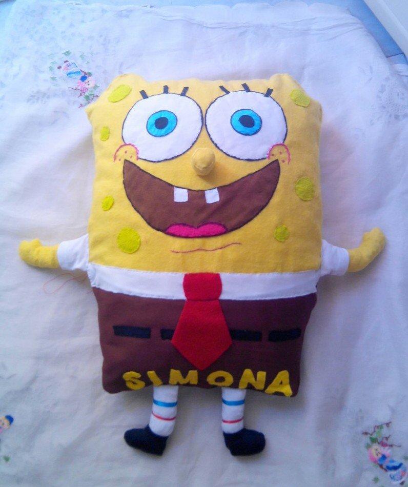 Spongebob cuscino pupazzo