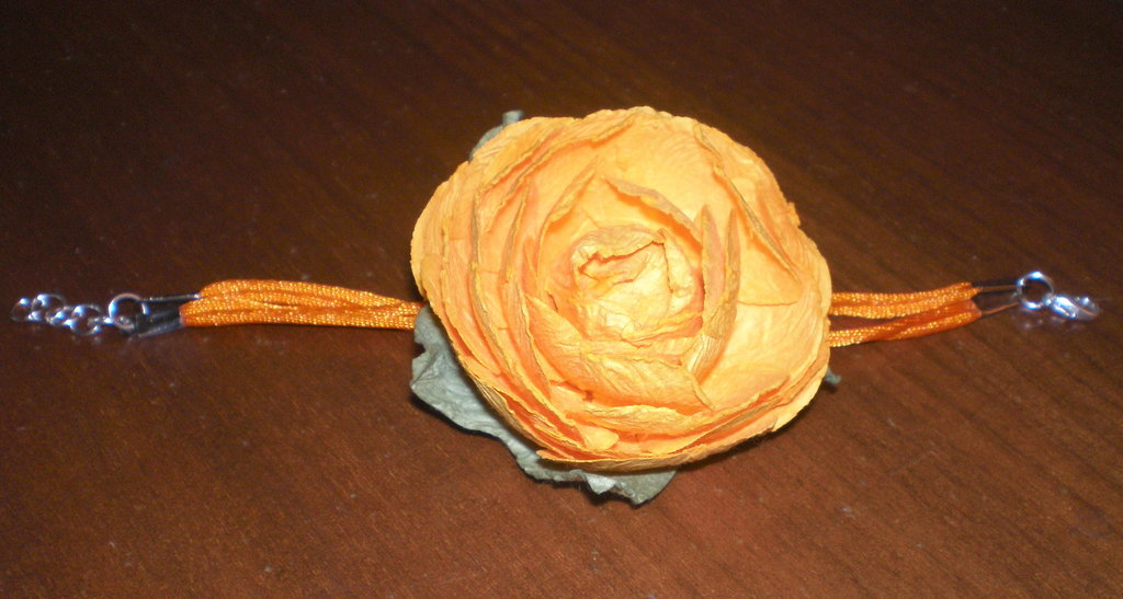 Bracciale paper rose