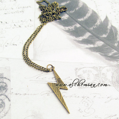 Harry Potter Saetta tono bronzo antico