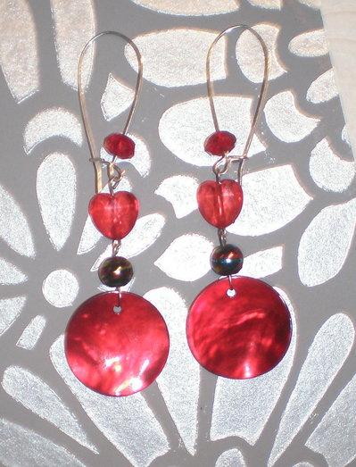 Orecchini reddish
