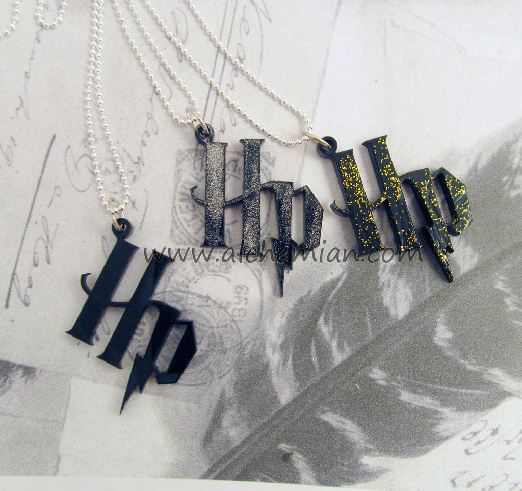 Harry Potter iniziali HP con saetta