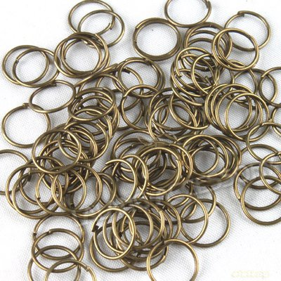 Anellinini bronzo 10mm 50pz