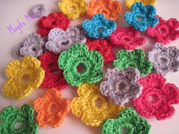 Fiorellini crochet