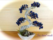Bonsai giapponese di pietre semipreziose