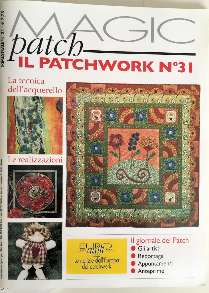 Rivista Magic Patch il Patchwork n.31 Novembre-Gennaio 2008