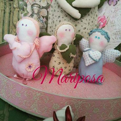 Angeli fatti a mano - Bomboniera per nascita,battesimo,comunione,compleanno