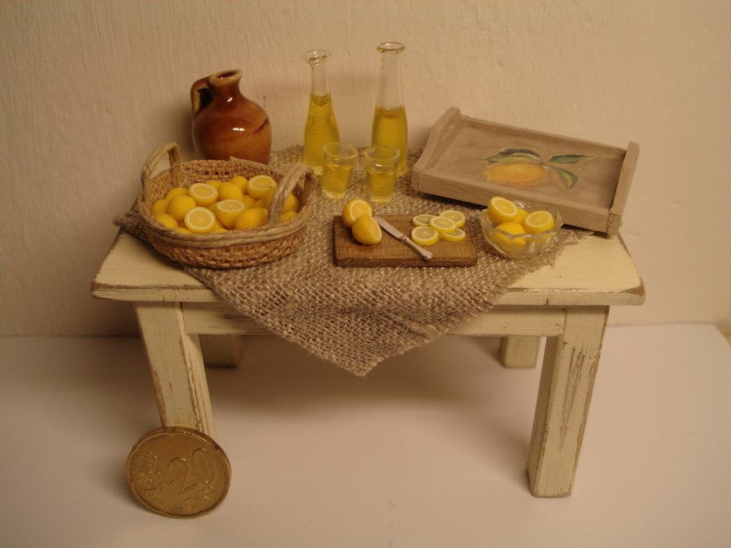 tavolo limoncello