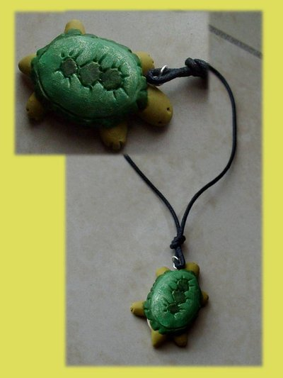 Collana tartaruga (cordino e das)