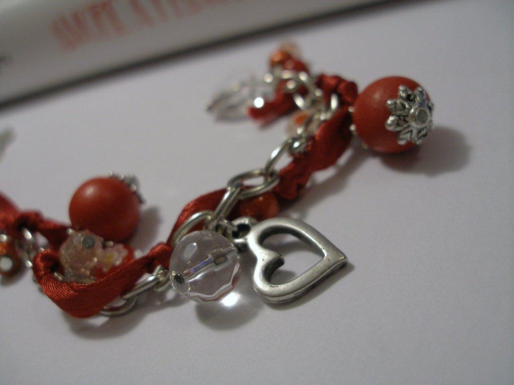 "Bracciale ""Red&Heart"""