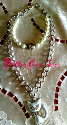 Collana Gatto Bianco