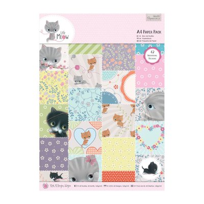 Blocco carta A4 - Little Meow