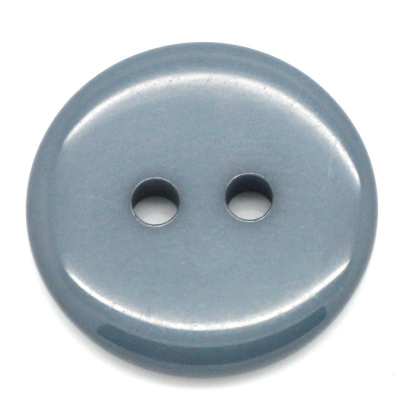 Set 10 bottoni 18 mm - Blu scuro