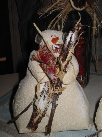 Epatter pupazzo di neve