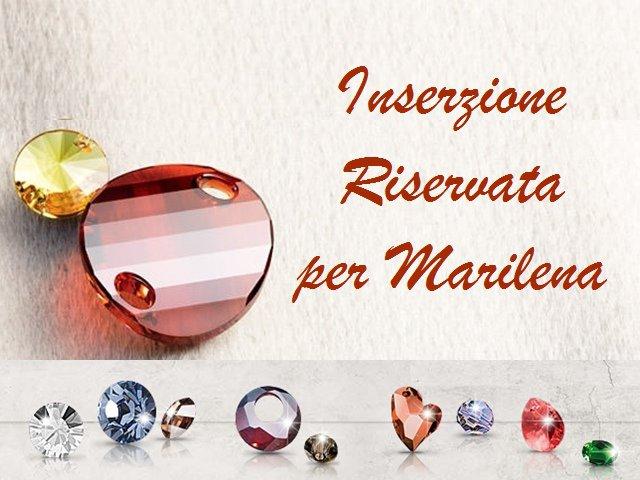 INSERZIONE RISERVATA per Marilena