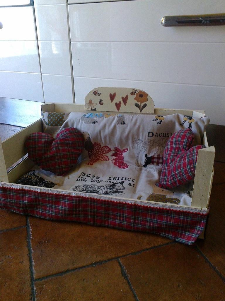cuccia per piccoli cani o gatti