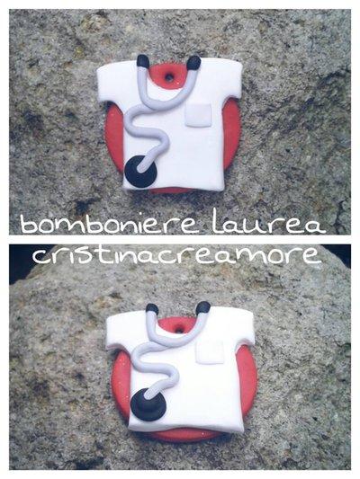 BOMBONIERA LAUREA INFERMIERE