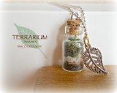 Collana con terrarium in miniatura - Terrarium