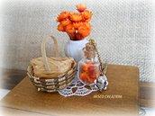 Collana con bottiglietta di fiori - Api e Fiori
