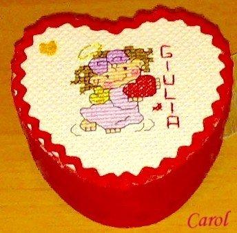 "Scatolina portagioie ""Angel Love"""