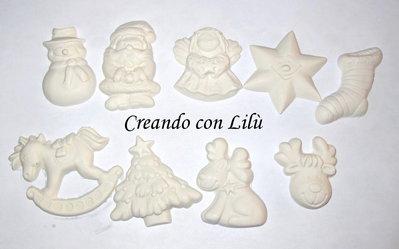 gessetto profumato soggetto natalizio a scelta cm 4/5