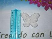 gesso profumato farfalle con motivi in rilievo cm5