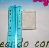 gessetto profumato targhetta comunione bimbo 5cm