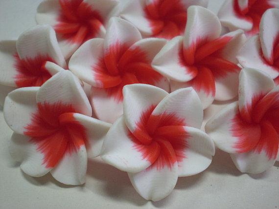 10 Perline Fiori Hawaiani