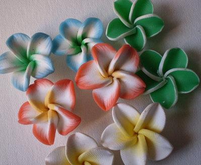 8 Perline Fiori Hawaiani