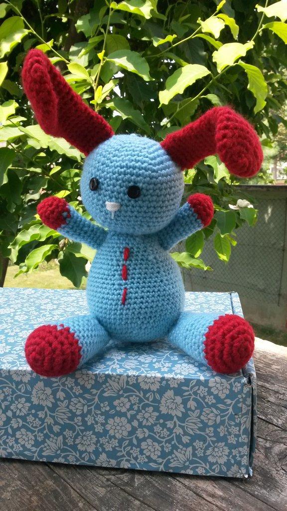 Bunny coniglio in lana