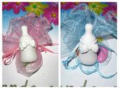 bomboniera completa gessetti profumati biberon o altri soggetti tema bebe'