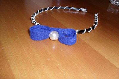cerchiello bianco-blu