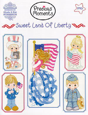 Sweet Land Of Liberty - Precious Moments