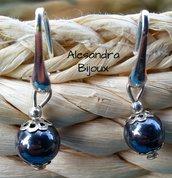 Orecchini perlato in argento