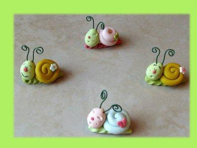 Lumachine colorate (bomboniere das)