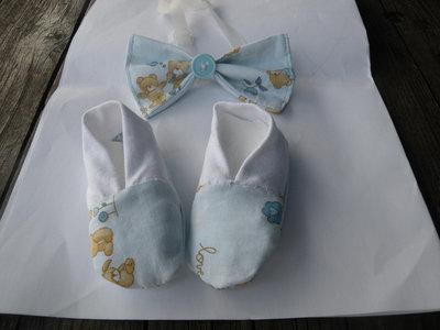 scarpine bebè e papillon