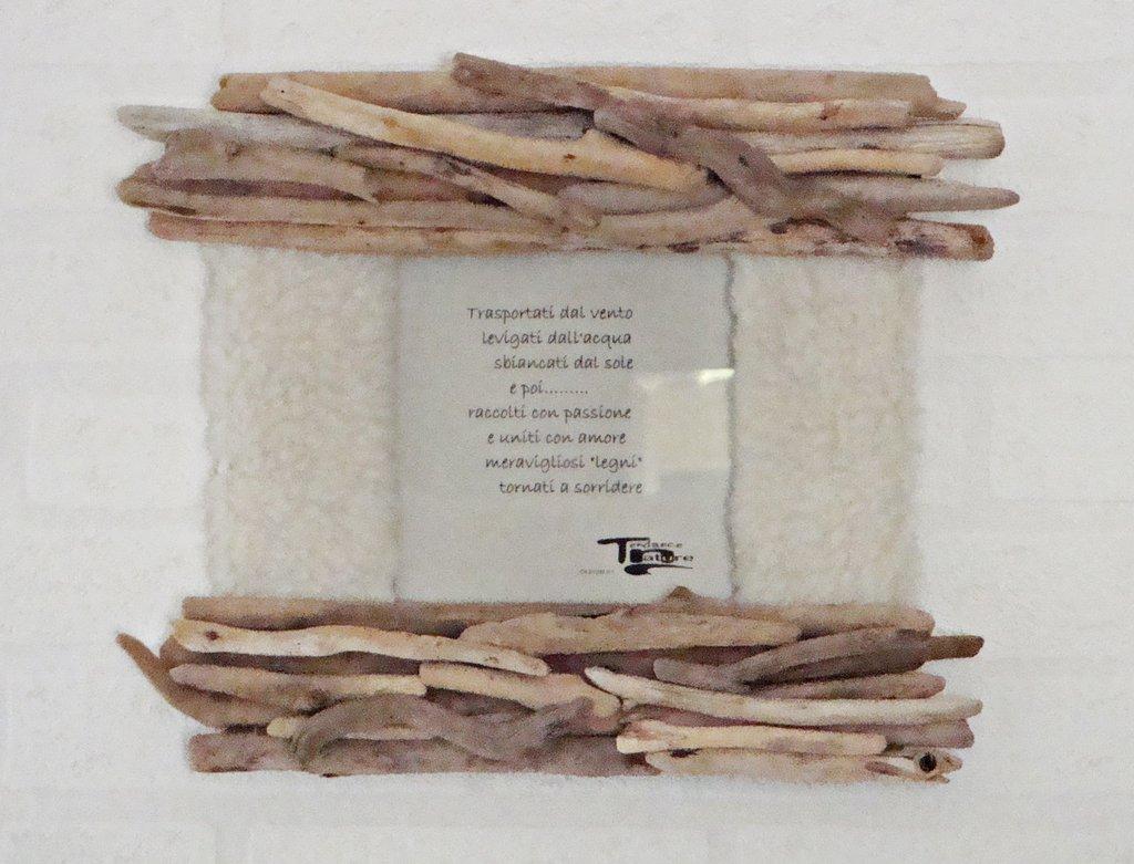 Polar ii portafoto con legni di mare per la casa e for Legni di mare arredamento