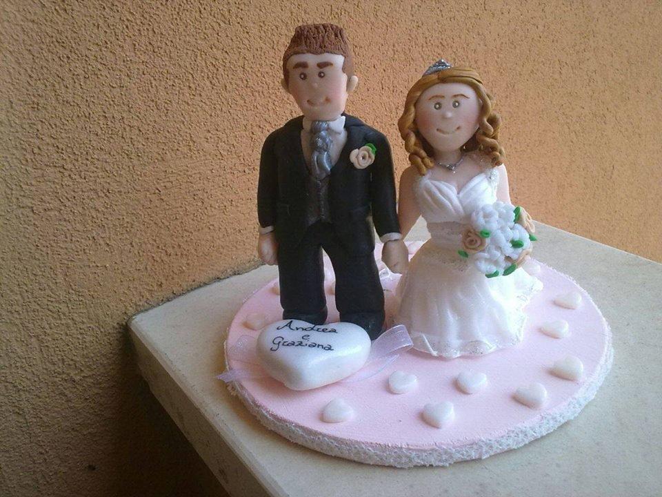 Topper Cake Sposi