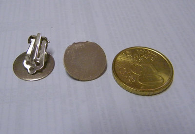 Base per orecchini a clip