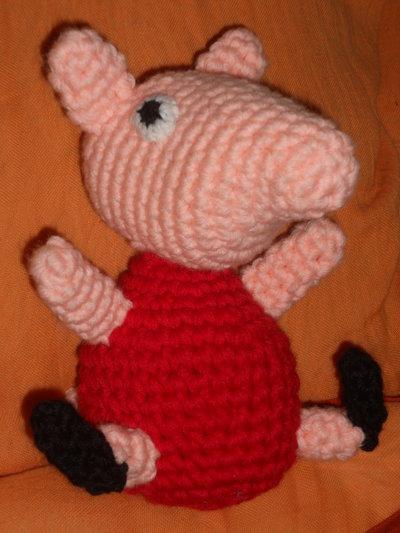 Pupazzo a forma di Peppa Pig