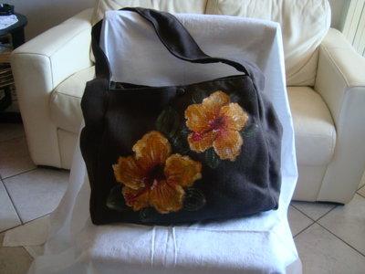 Borsa con fiori