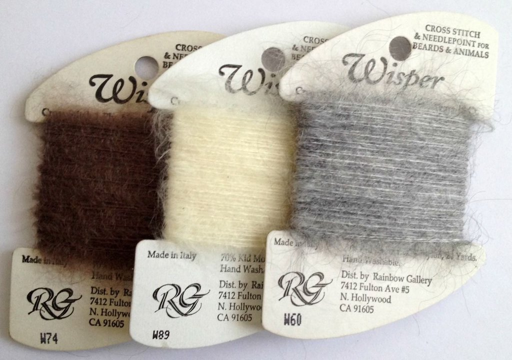 Wisper Thread - Rainbow Gallery - Filato Mohair - 1 cartina