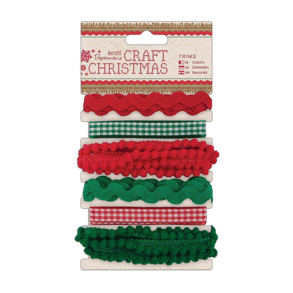 Set 6 nastri - Craft Christmas