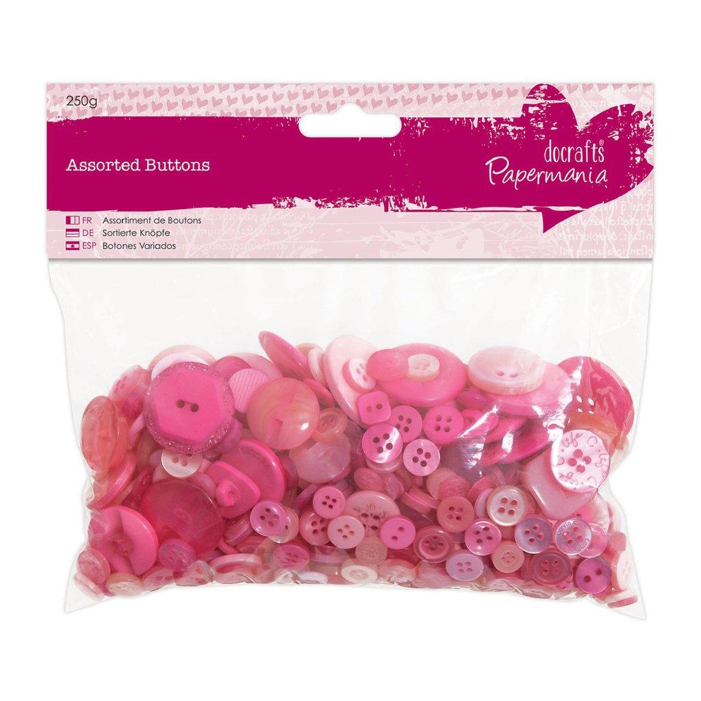Mix 250 gr bottoni - Rosa