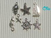set 7 charms marinari 2