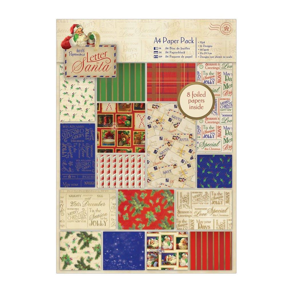 Blocco carta A4 - Letter to Santa