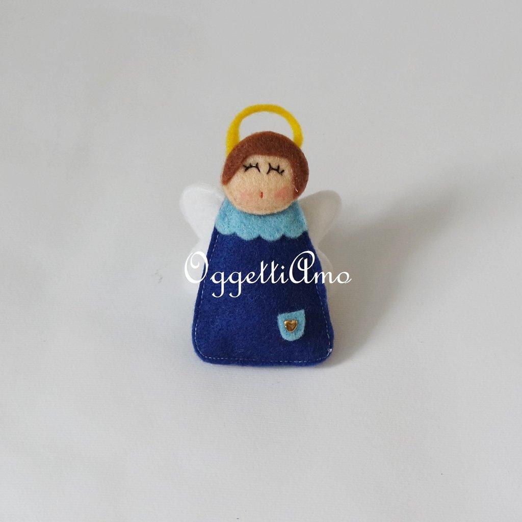 Angioletti in feltro per le bomboniere del tuo bambino