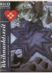 Weihnachtszeit - Hardanger - Rico Design n° 41