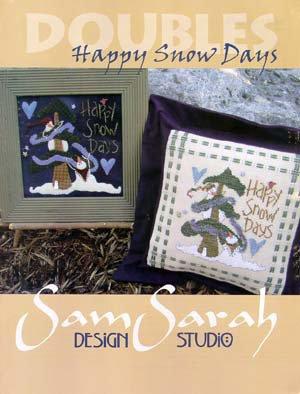 Happy Snow Days - Doubles - Ricamo e Applique