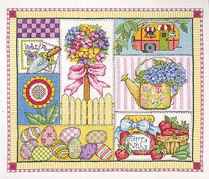 Spring Design - Primavera a Punto Croce - Bobbie G. Design